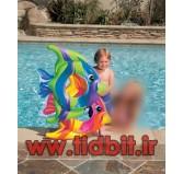 حلقه شنای کودک با طرح ماهی