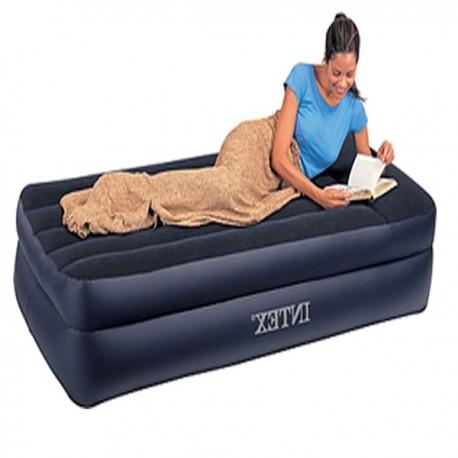 تخت خواب بادی يک نفره دارای پمپ برقی مجزا
