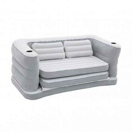 کاناپه بادی تختخوابشو با روکش جیر