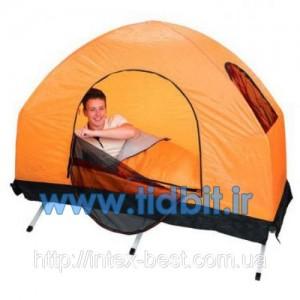 تخت و کیسه خواب و چادر یکنفره